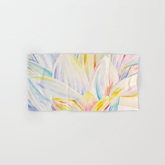 Rainbow Lotus Hand & Bath Towel