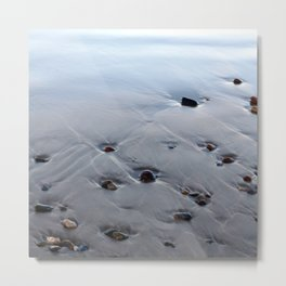 Here Just A While Metal Print