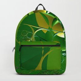 Sunrays through the grasses - An abstract illustration  Backpack