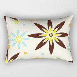 70s flowers Rectangular Pillow