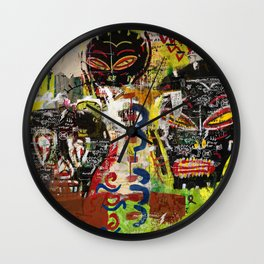 Kaos Heads Wall Clock
