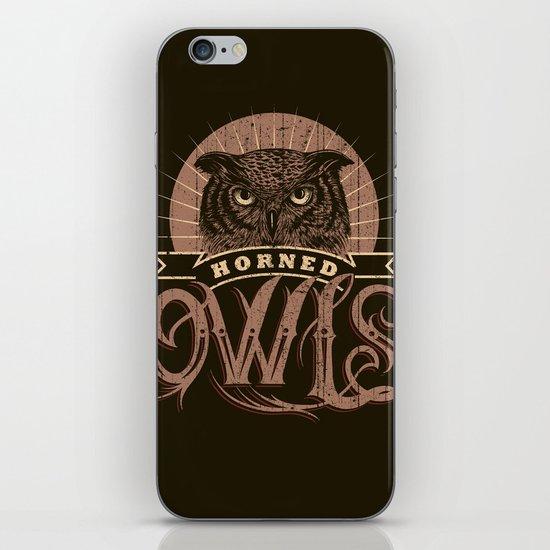 Team Owl iPhone & iPod Skin