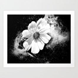 Flower Of The Universe Art Print