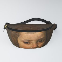 """Diego Velázquez """"Portrait of a Girl in Prayer"""" or """"The Virgin Mary as a Child"""" Fanny Pack"""