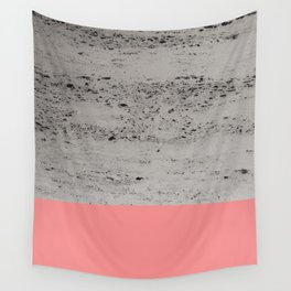 Light Coral on Concrete #2 #decor #art #society6 Wall Tapestry