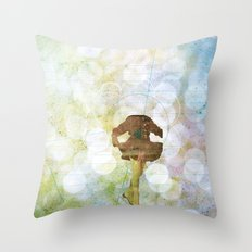all these fine memories are fuckin' me down Throw Pillow