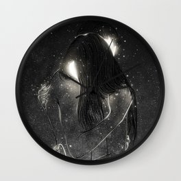 Shining souls. Wall Clock