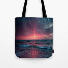 Beach Painting Tote Bag