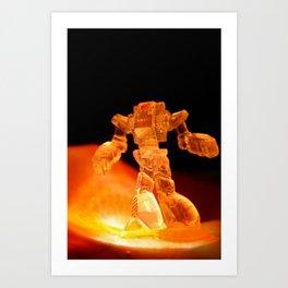 Robo Gummy. Art Print