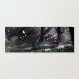 Encounter with the hippogriff Canvas Print