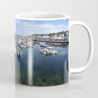 boats Mugs featuring Boats by aToby