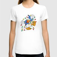 donald duck T-shirts featuring Funny Angry Donald Duck by Yuliya L