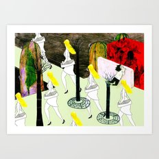 hot summer Art Print