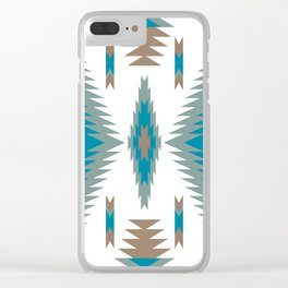 Indian Designs 116 Clear iPhone Case