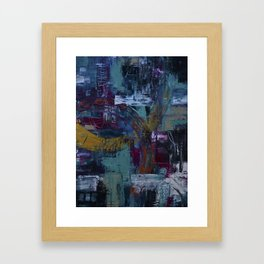 In the Fray Framed Art Print
