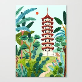Singapore's Chinese Gardens Canvas Print