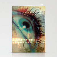 movie posters Stationery Cards featuring Movie! by Angelo Cerantola