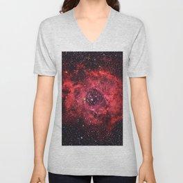 Rosette Nebula Unisex V-Neck
