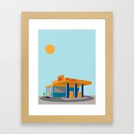 Pump It Framed Art Print