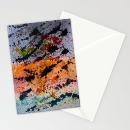 Colores y Manchas Stationery Cards
