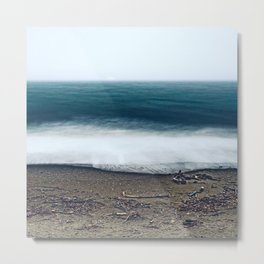 In the Ocean Deep Metal Print