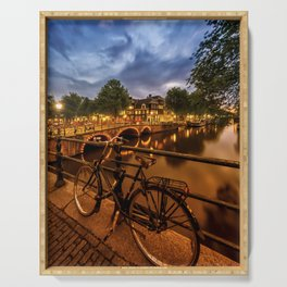 AMSTERDAM Evening impression from Brouwersgracht Serving Tray