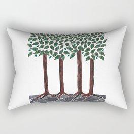A Walk in the Woods Rectangular Pillow