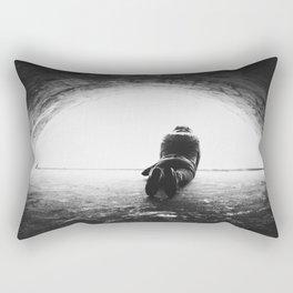 Looking to the Light Rectangular Pillow