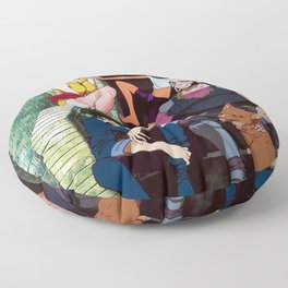 solo spike cowboy bebop main cast Floor Pillow