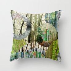 TREE-ENDOUS Throw Pillow