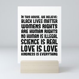 The Resistance Print - House Rules Mini Art Print