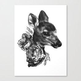 Fawn & Flora I Canvas Print