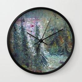 Cascade Falls Trail Wall Clock