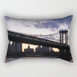 Urban Landscape Rectangular Pillow