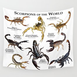 Scorpions of the World Wall Tapestry