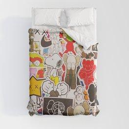 Kaws Art Style Duvet Cover