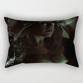 Suicide Witch in Critique II Rectangular Pillow
