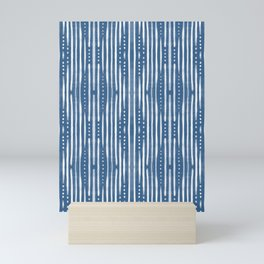 Shibori Tribal #society6 #shibori Mini Art Print
