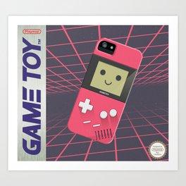 GAMETOY - Pink         Game Boy, toy, Gameboy Art Print