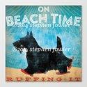Beach Time Scottie by Stephen Fowler by geministudio