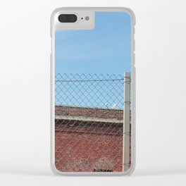 Brix and Cages Clear iPhone Case