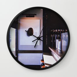 Your Favorite Place To Be for Coffee Wall Clock
