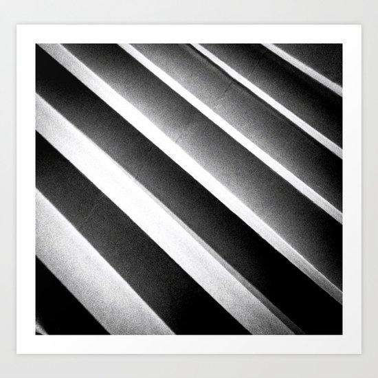 Paper Noir Art Print