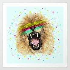 Lion II Art Print