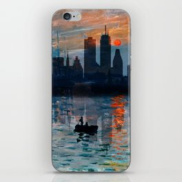 Boston Skyline 12 iPhone Skin