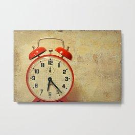 Que horas são ? Metal Print
