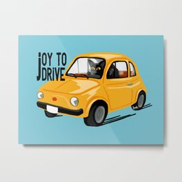 Joy to drive Metal Print