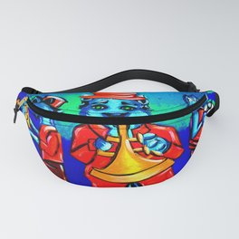 Blue Cat Trio Band Fanny Pack