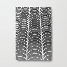 Layers, Marina Towers Metal Print