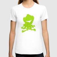kermit T-shirts featuring Pochoir - Kermit by Krikoui